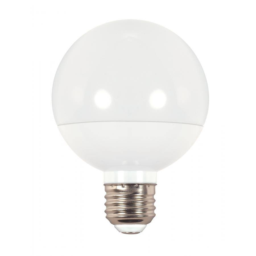 Satco Decorative G25 Globe LED Light Bulb - 6W, 120V