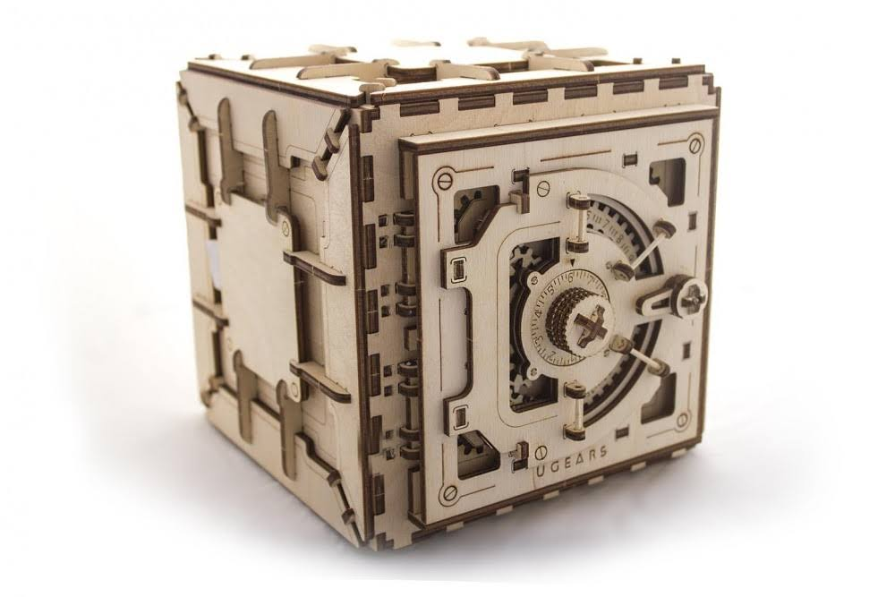 Ugears Safe Mechanical 3D Model