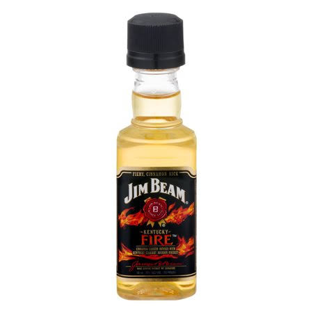 Jim Beam Kentucky Fire Kentucky Straight Bourbon Whiskey - 50ml