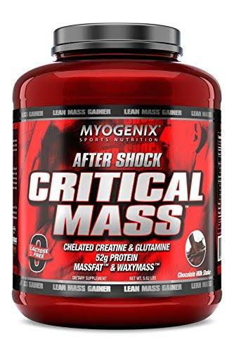 Myogenix After Shock Critical Mass Supplement - Chocolate Milkshake, 5.62lbs