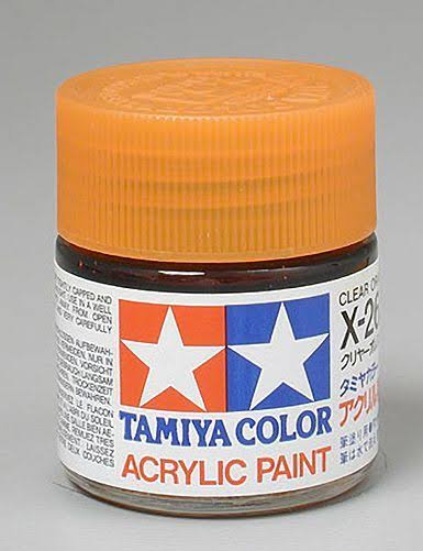 Tamiya Acrylic X26 Clear Orange 3/4 oz