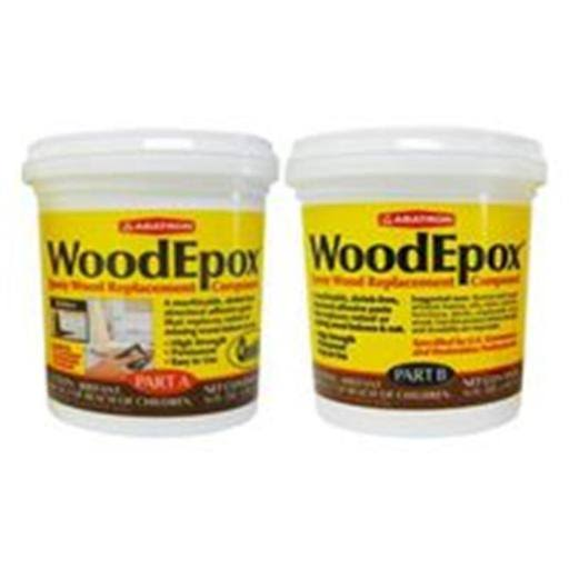 Abatron Woodepox Wood Replacement Compound Part A & Part B