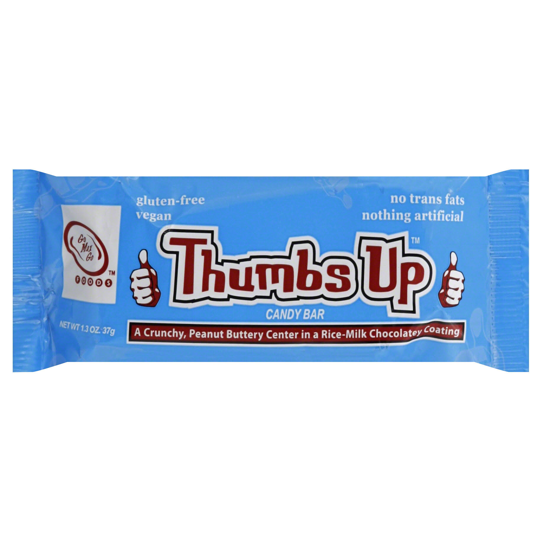Thumbs Up Candy Bar - Chocolate Covered Peanut Butter, 1.3oz