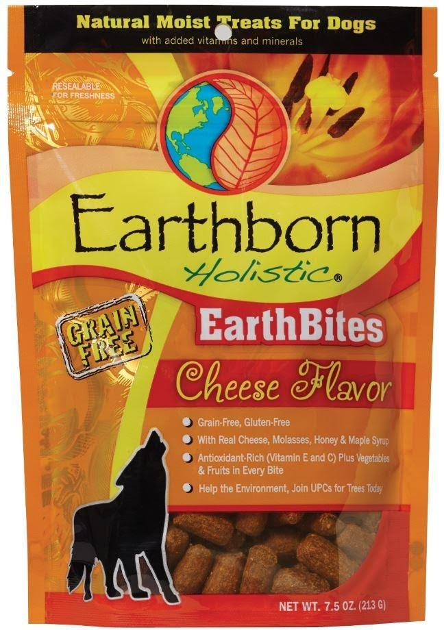 Earthborn Holistic Earthbites Dog Treats - Cheese Flavor, 7.5oz