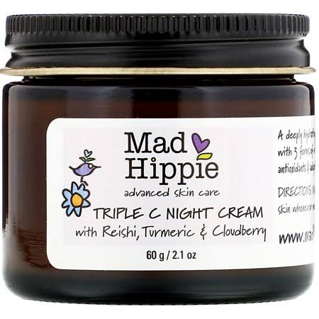 Mad Hippie Skin Care Triple C Night Cream - 2.1 oz Cream