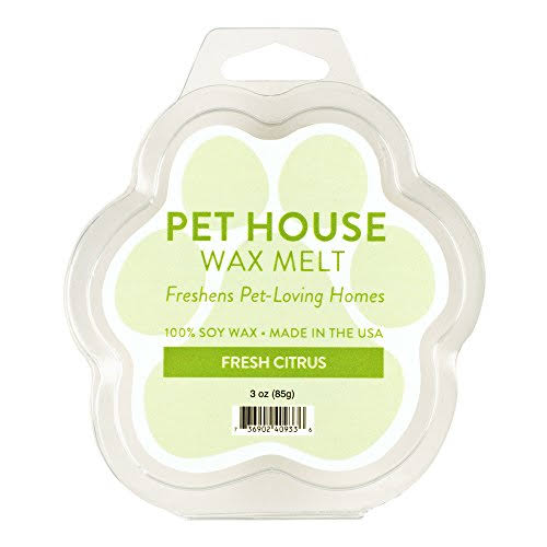 One Fur All Pet House Wax Melt - Fresh Citrus, 85g