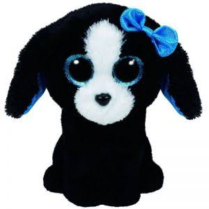 Ty Beanie Boo Tracey Dog Plush Toy - 15cm