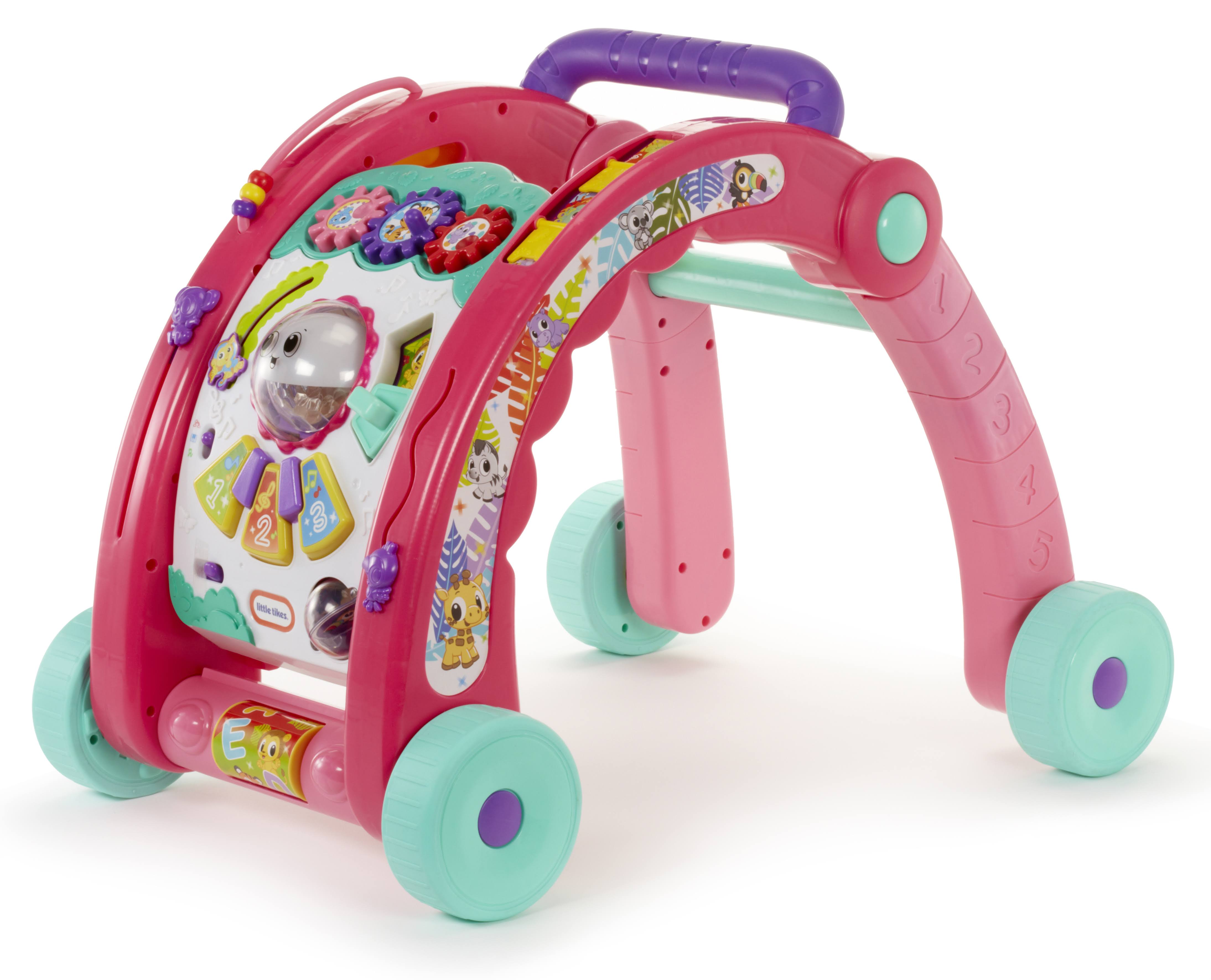 Little Tikes 3 In 1 Activity Walker - Pink