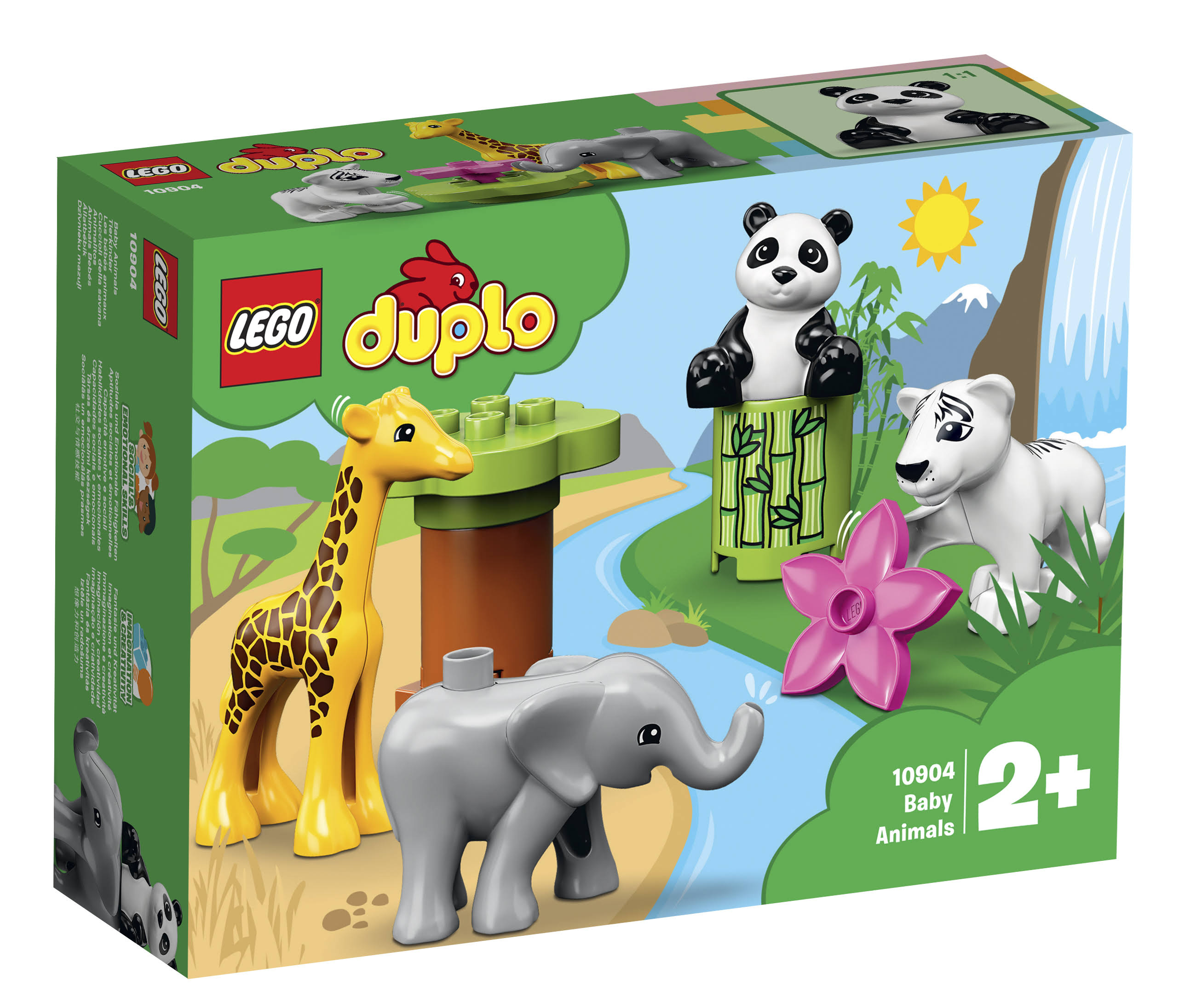 Lego Baby Animals Building Kit - 9pcs