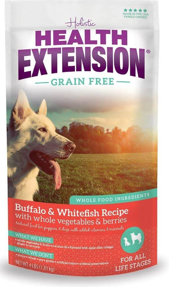 Health Extension Allergix Dog Food - Buffalo, Whitefish & Chickpea Formula, 4lb