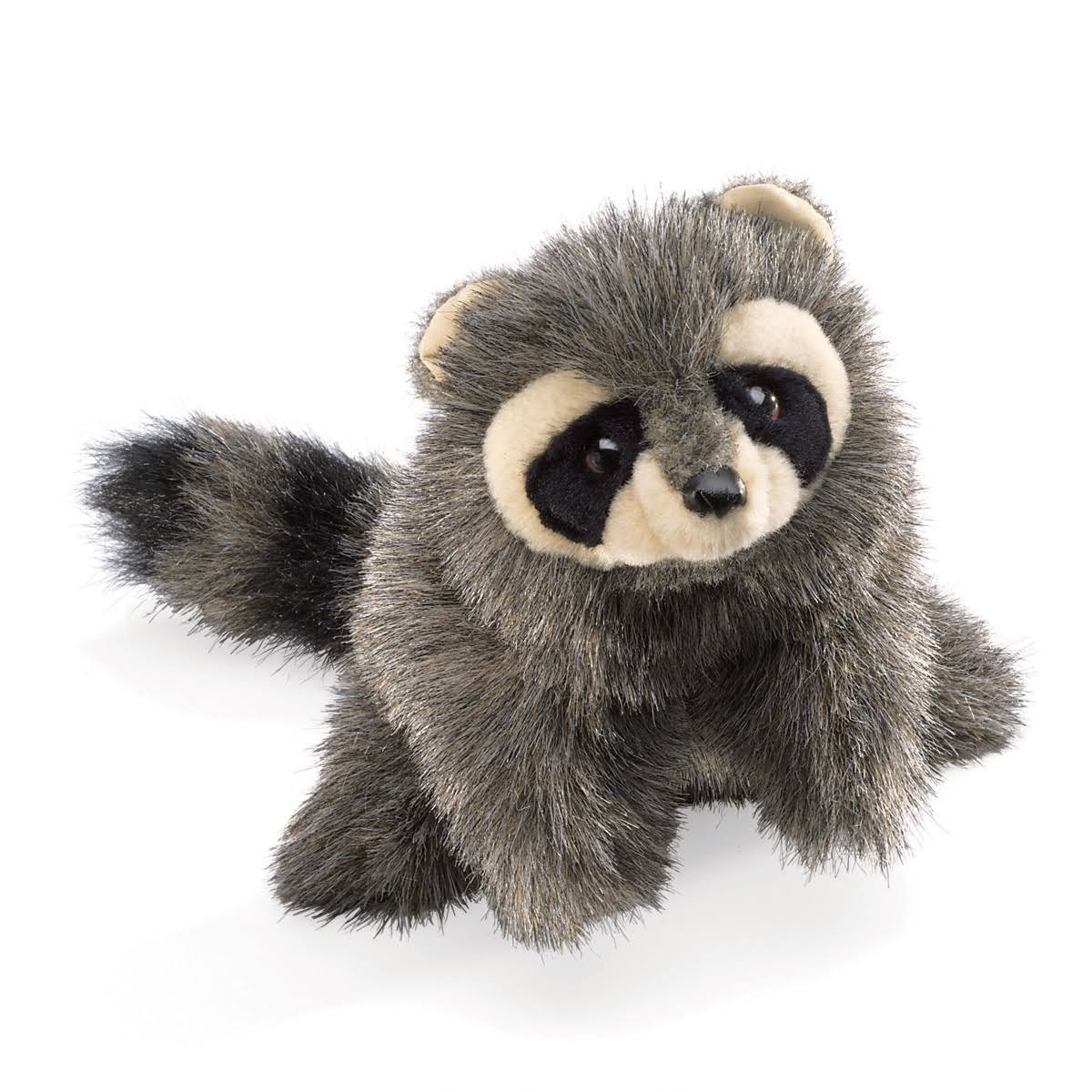 Folkmanis Baby Raccoon Hand Puppet - 10""