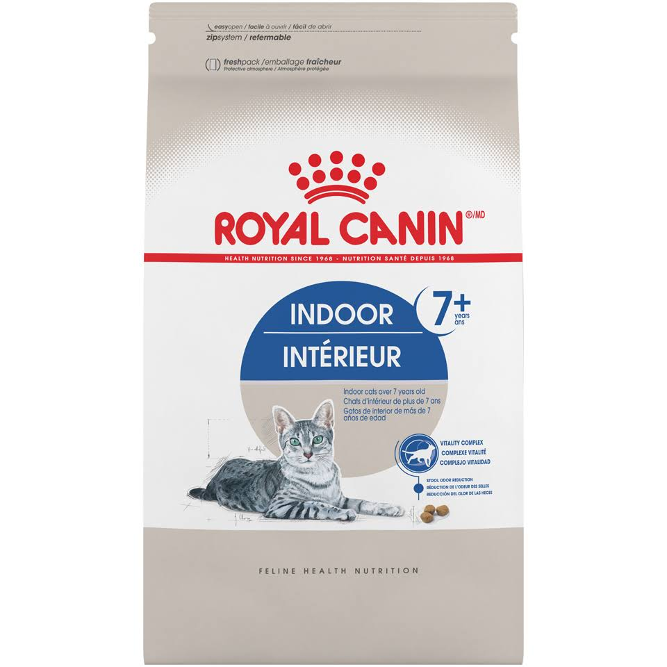 Royal Canin Indoor Mature 27 Dry Cat Food - 5lbs