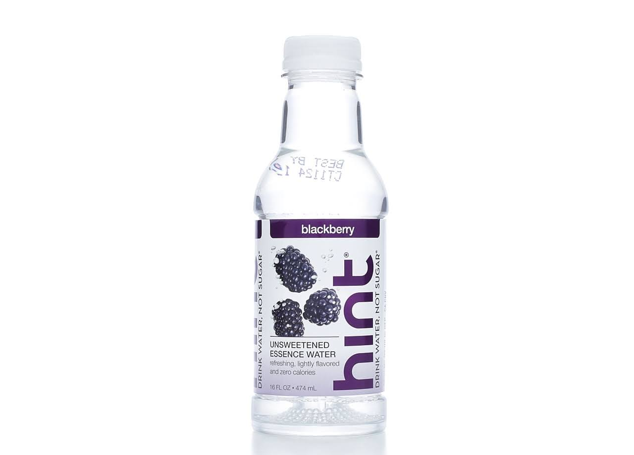 Hint Premium Essence Water - Blackberry, 16oz
