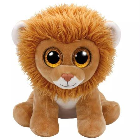 Ty Louie Lion Beanie Babies Stuffed Animal Toy - Large