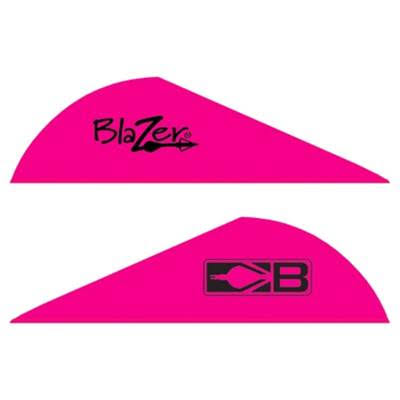 "Bohning Archery Blazer Arrow Vanes - 2"", Hot Pink"