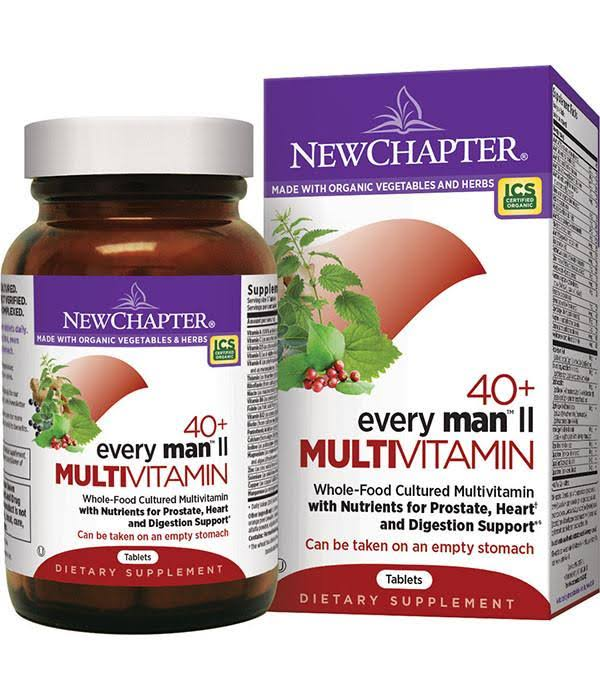 New Chapter Every Man II Multivitamin - 96 tablets