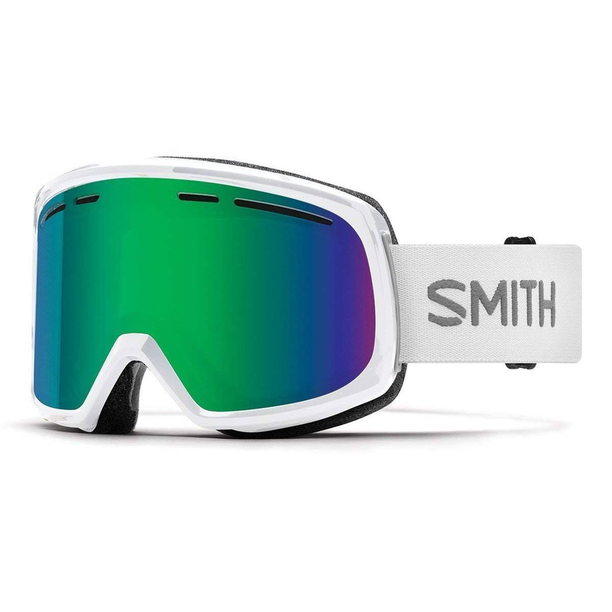 Smith - Range Goggles - White - Green Sol-X Mirror