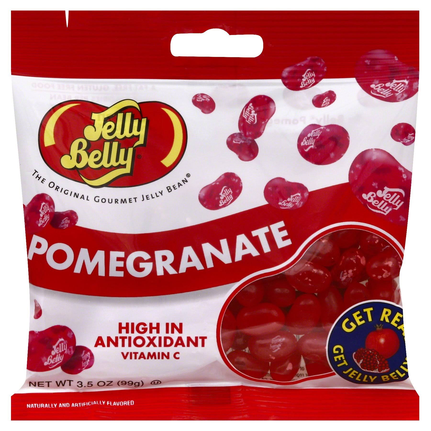 Jelly Belly Jelly Beans - Pomegranate, 3.5oz
