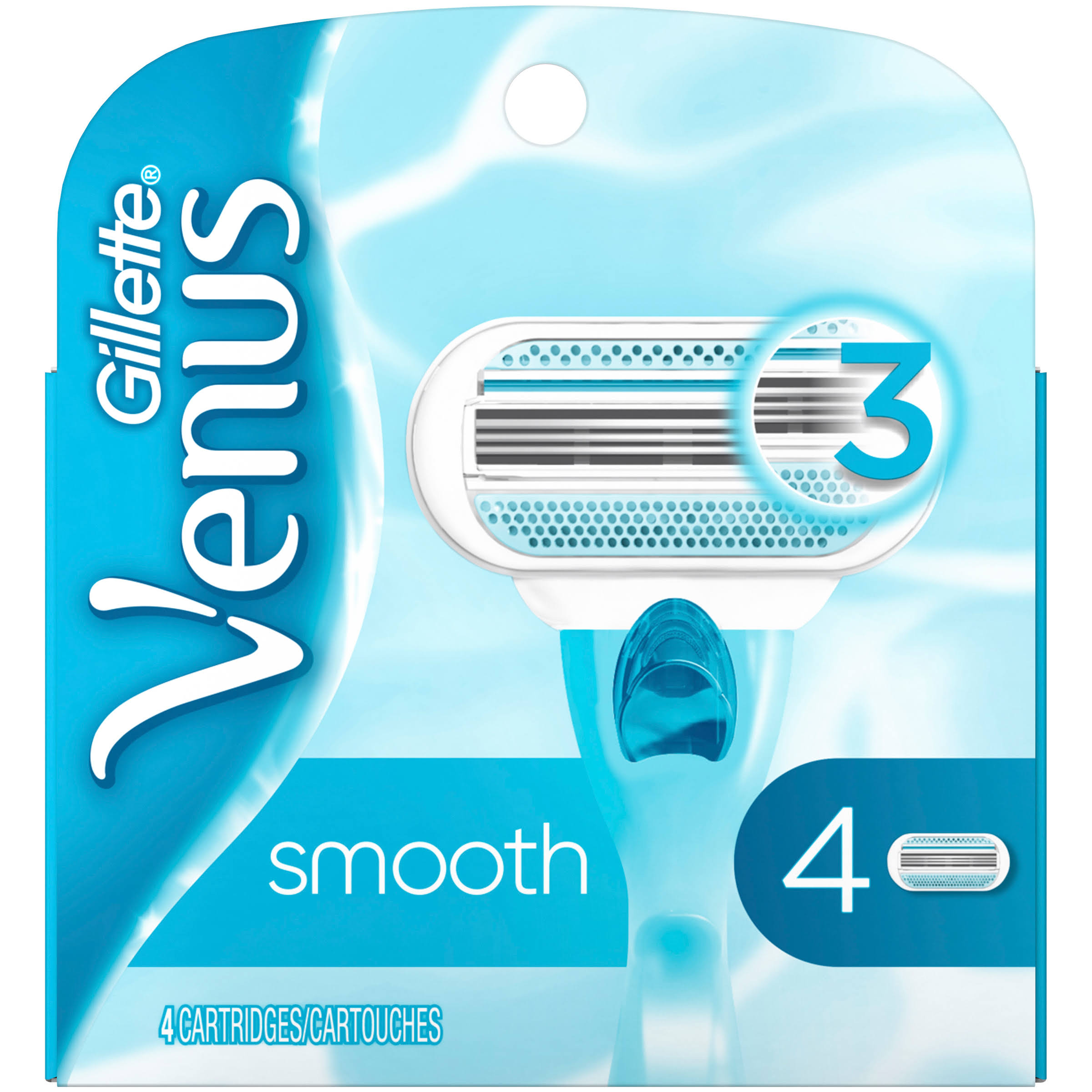 Gillette Venus Cartridges - 4 Pack