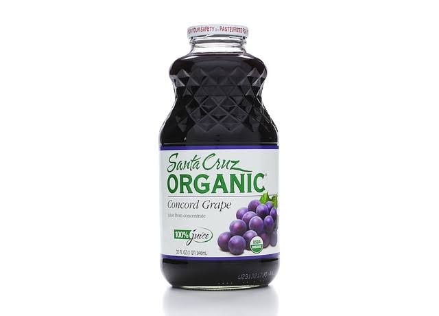Santa Cruz Organic Juice Concord Grape Juice