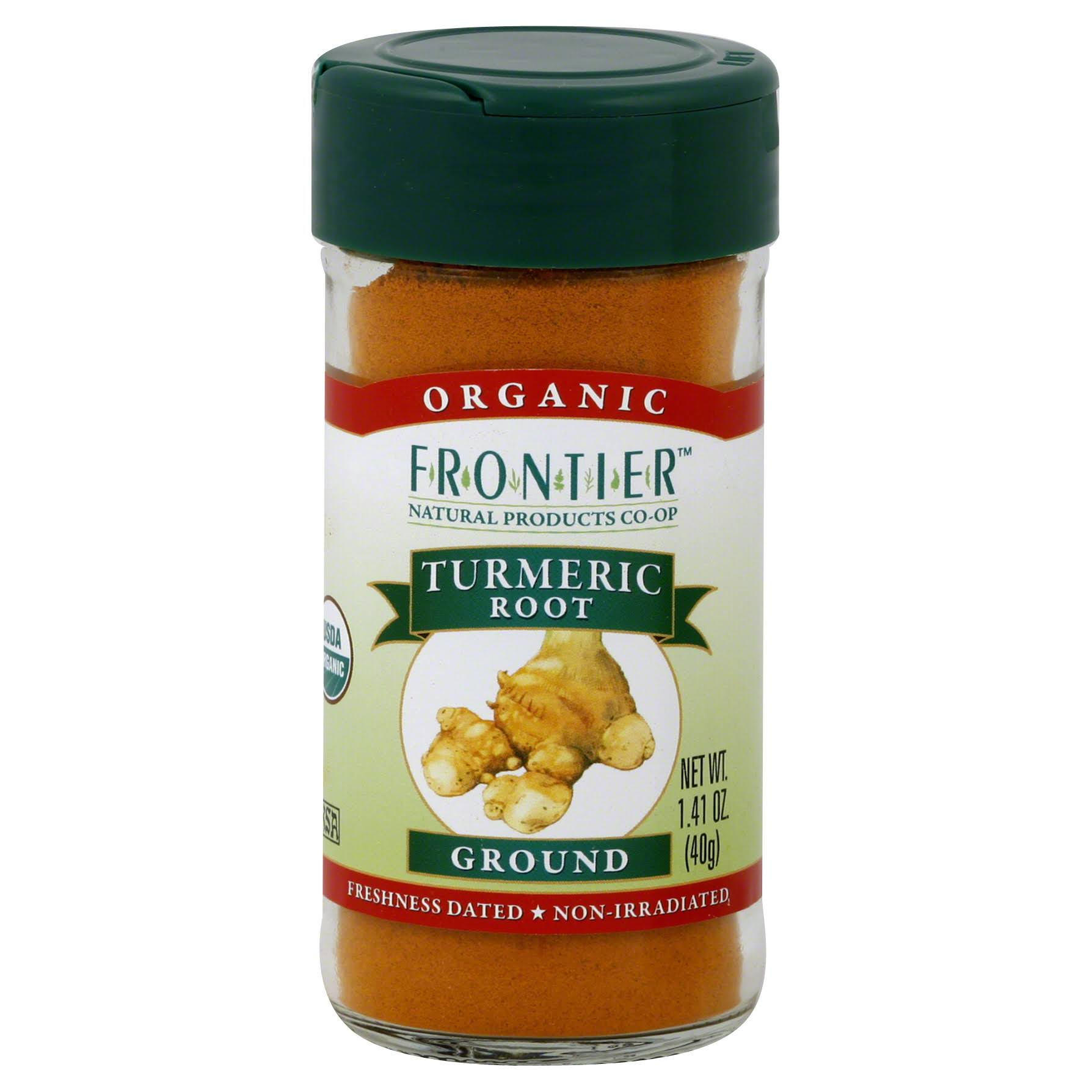 Frontier Organic Ground Turmeric Root - 1.41oz