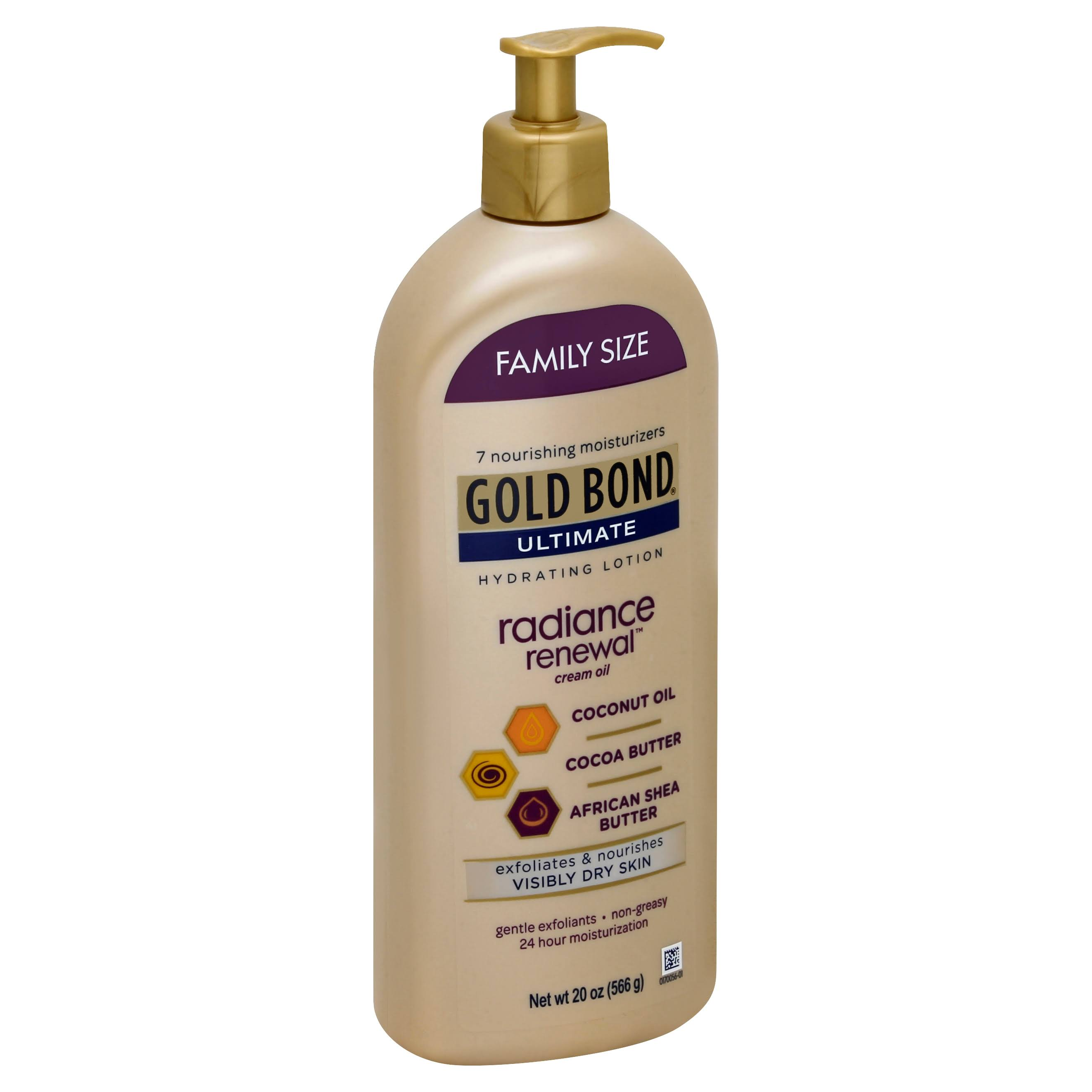Gold Bond Ultimate Radiance Renewal Hand And Body Lotion - 20oz