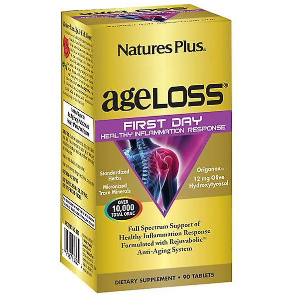 Natures Plus AgeLoss First Day Inflammation 90 Tablets