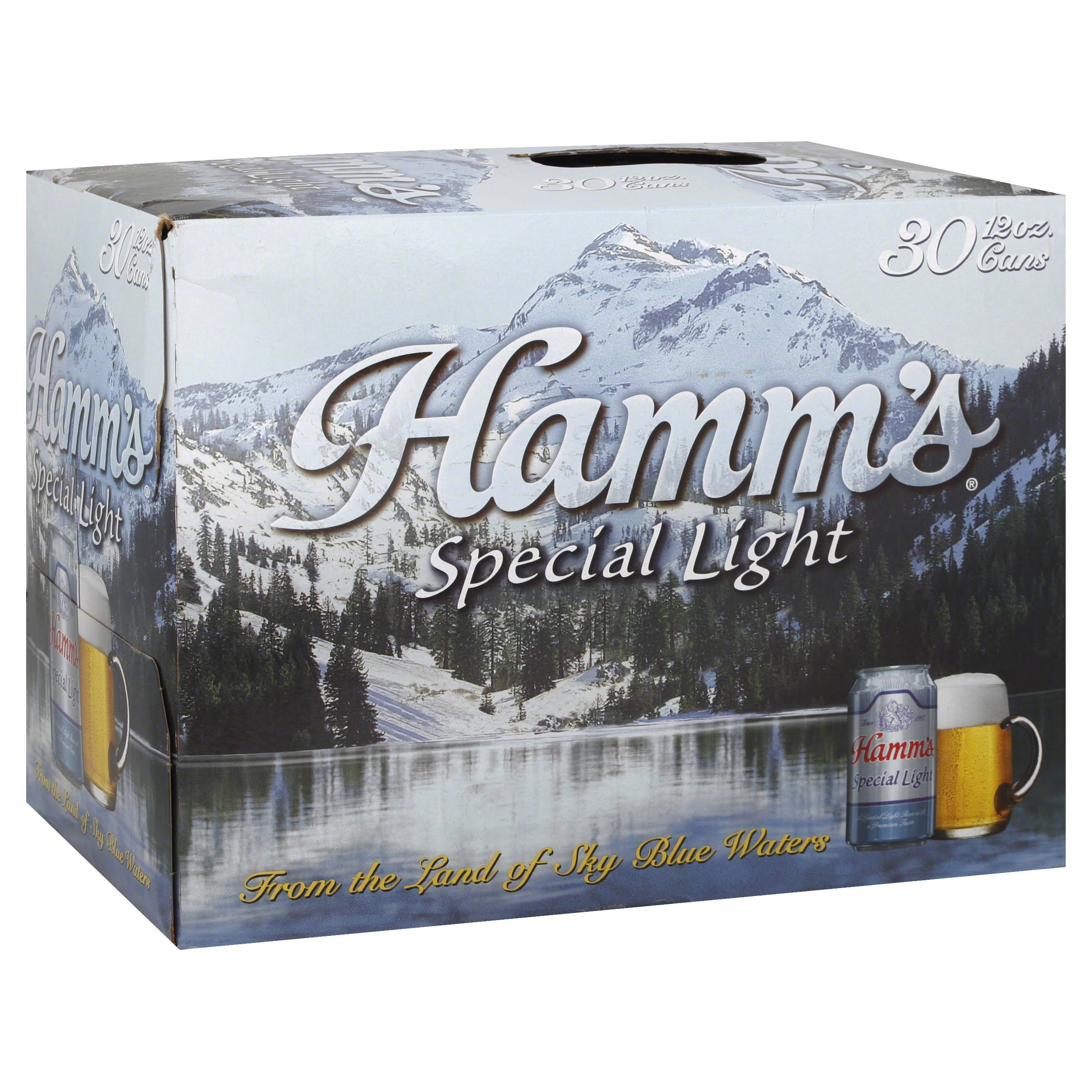 Hamm's Special Light Beer - 12oz