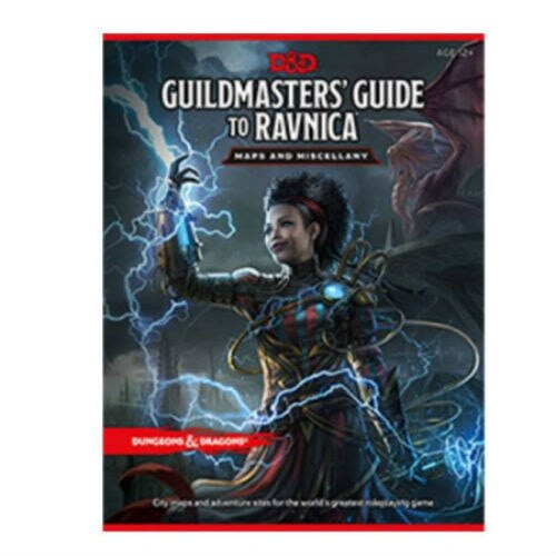 D&D Guildmasters' Guide to Ravnica Map Pack