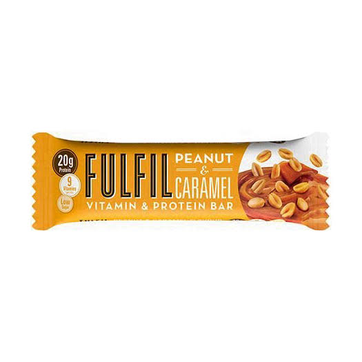 Fulfil Peanut & Caramel Vitamin & Protein Bar - 55g