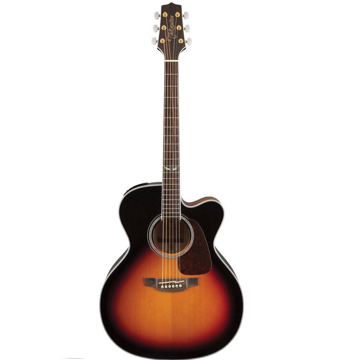 Takamine GJ72CE Jumbo Acoustic-Electric Guitar, Brown Sunburst