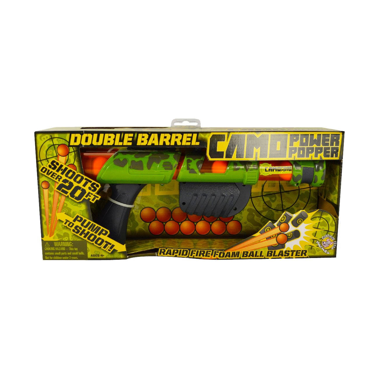 Hog Wild Camo Double Barrel Power Popper