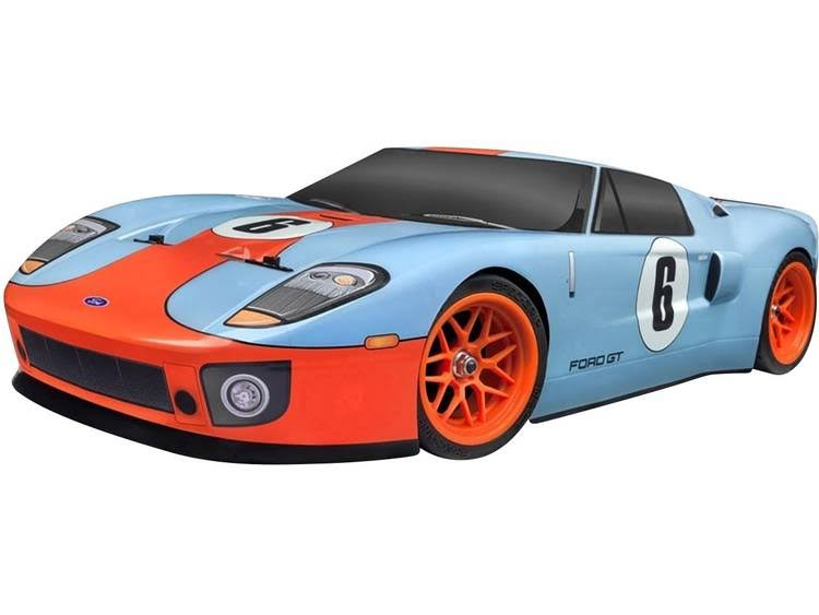 HPI Racing RS4 Sport 3 Flux Ford GT Heritage Edition Brushless RC Model Car - 1:10 Scale