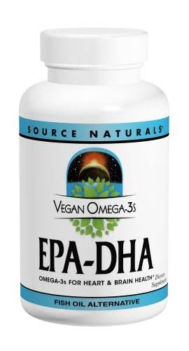 Source Naturals Vegan Omega-3 EPA-DHA 350mg Softgels - x60
