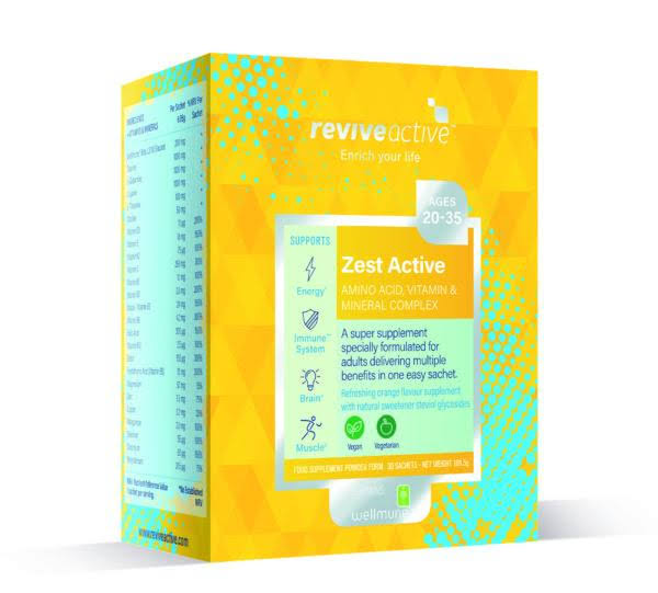 Revive Active Zest Active - 7 Pack