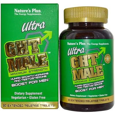 Nature's Plus GHT Male Maximum Strength Supplement - 90 Tablets