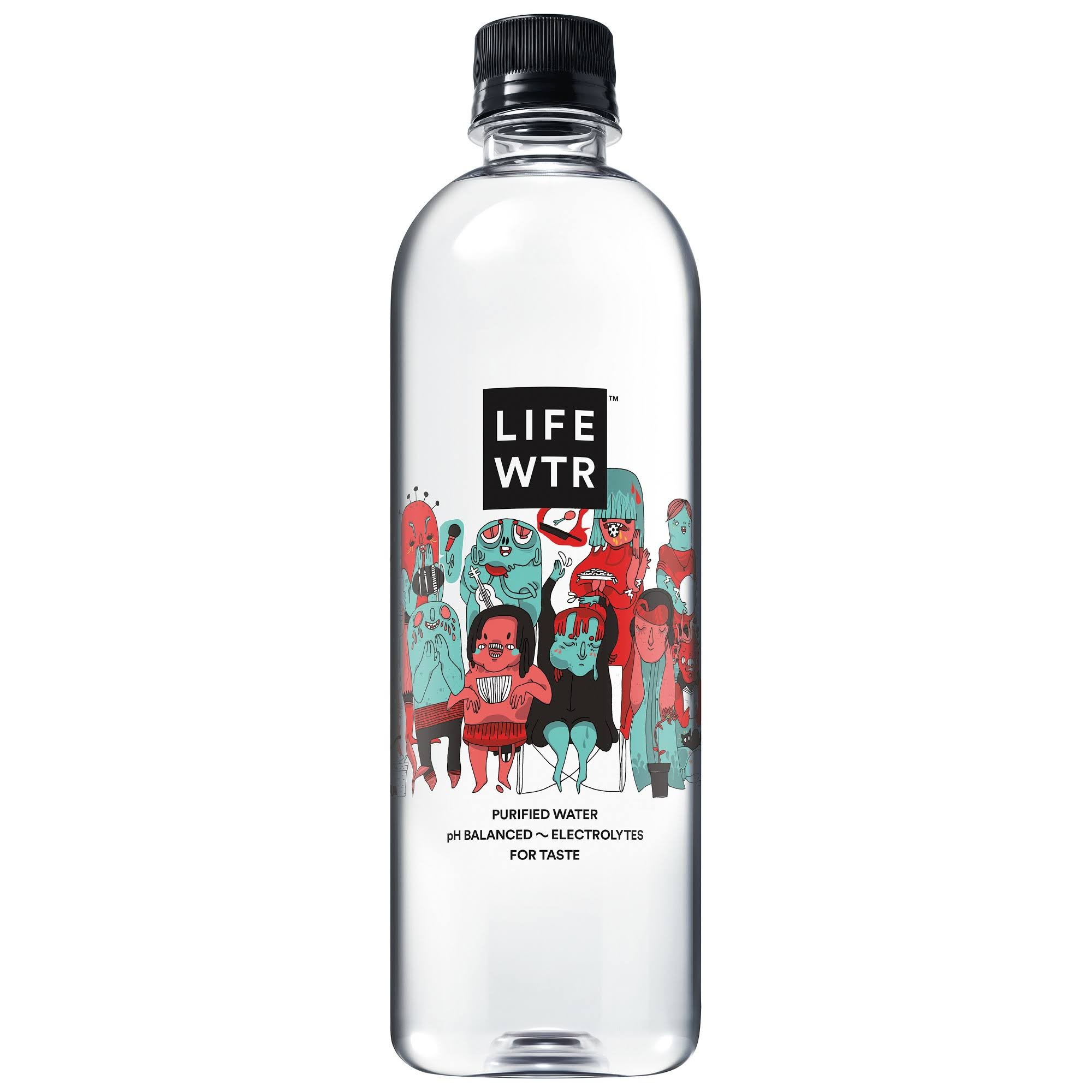 LifeWtr Water, Purified - 20 fl oz