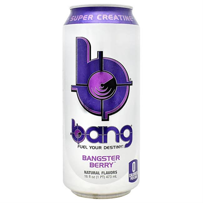Bang Energy Drink - Bangster Berry, 16oz