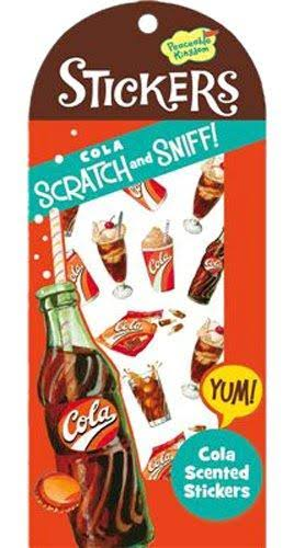 Peaceable Kingdom Scratch and Sniff Cola Scented Sticker Pack