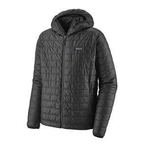 Patagonia Men's Nano Puff Hoody Jacket - Forge Grey, Small