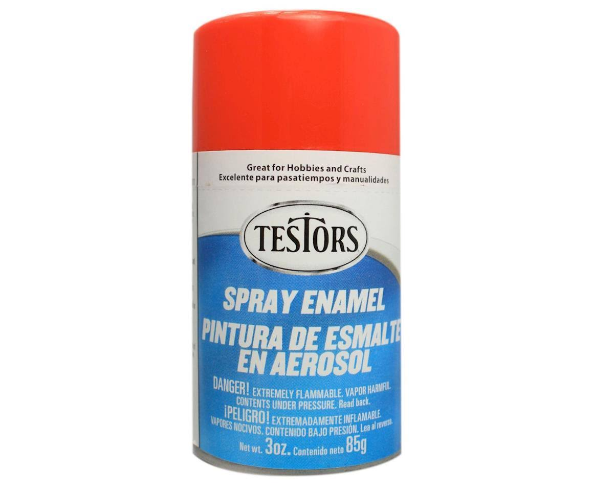 Testors - 1231T Spray Bright Red 3 oz. Enamel Paint