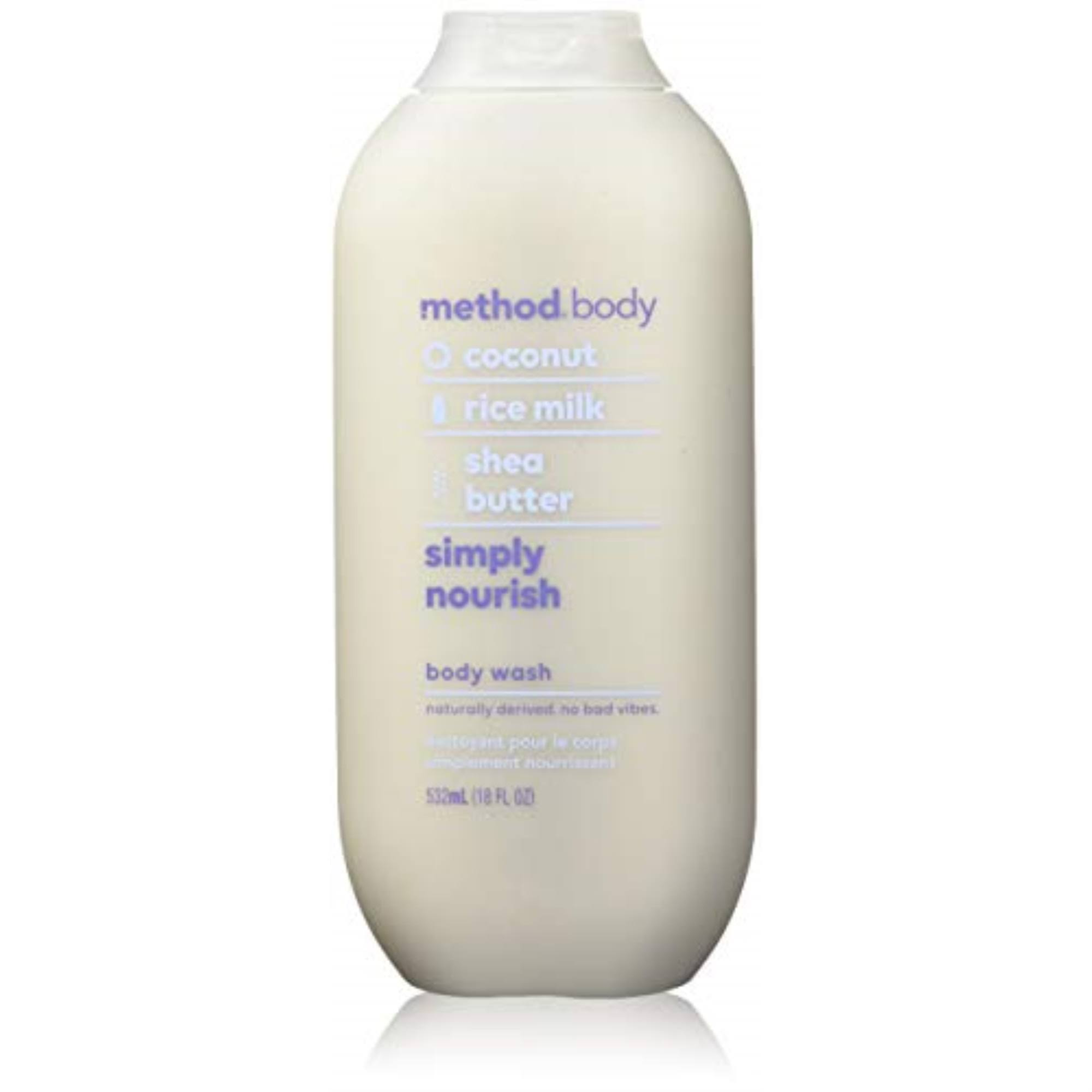 Method Simply Nourish Body Wash - 18oz