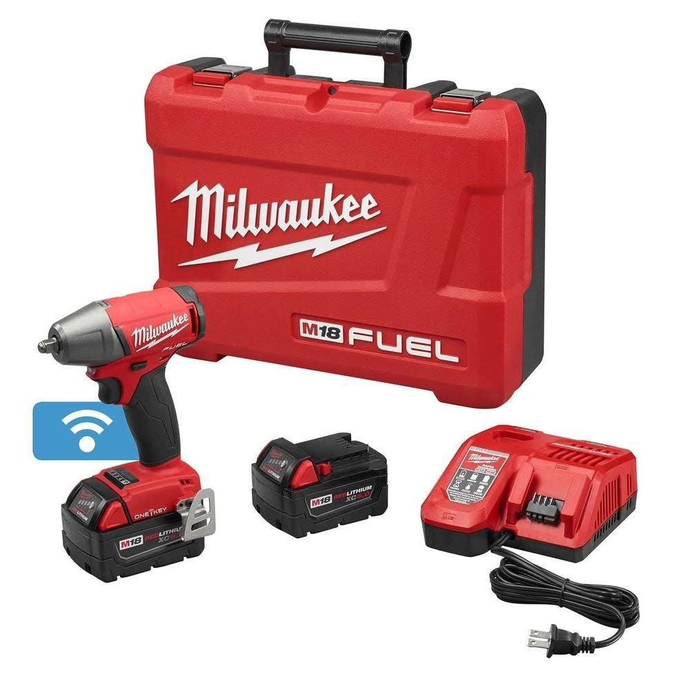 "Milwaukee 2758-22 M18 Fuel 3/8"" Compact Impact Wrench w/ Friction Ring"