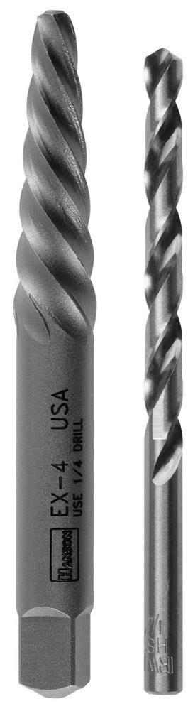 Irwin Tools Spiral Screw Extractor and Drill Bit Set