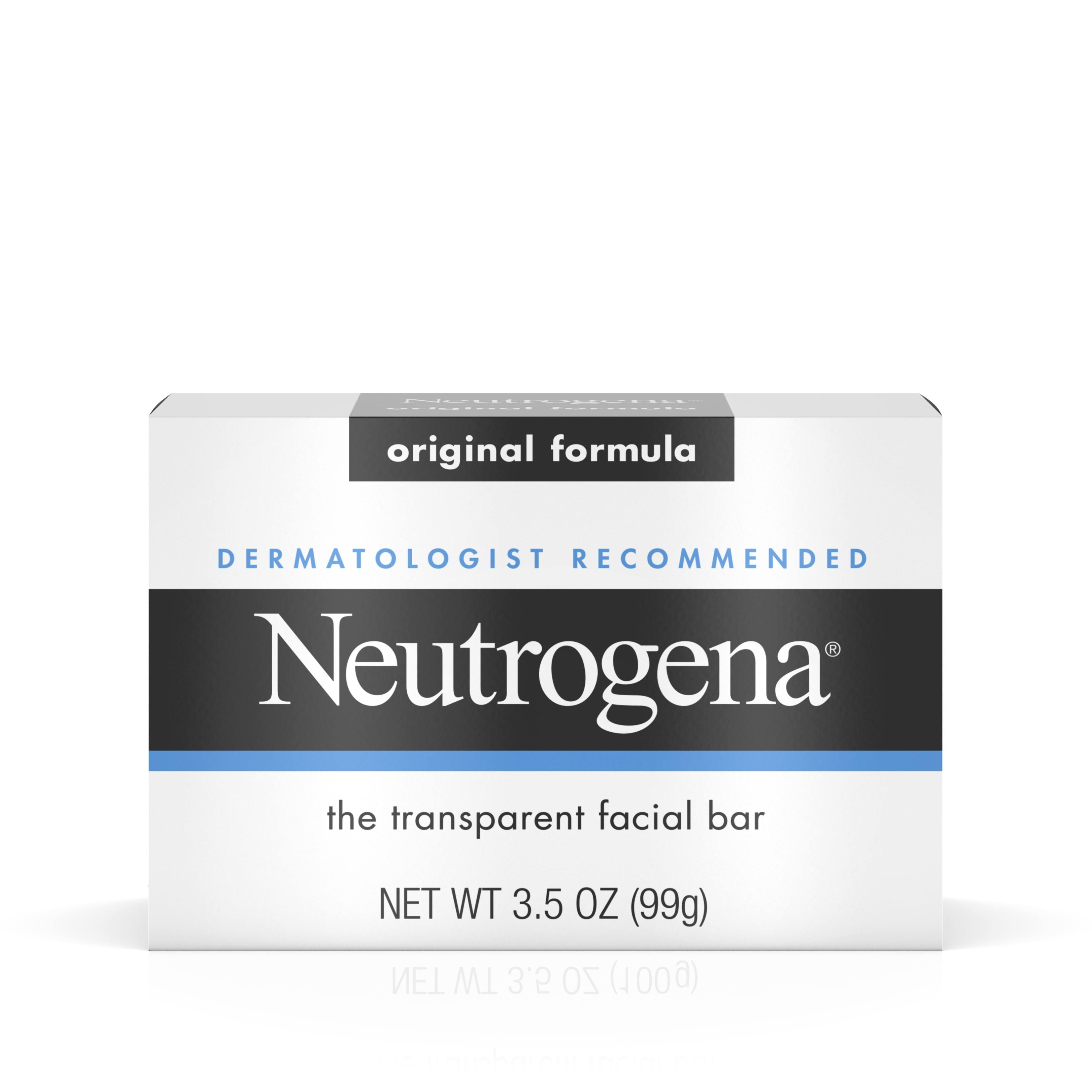 Neutrogena Transparent Facial Bar - Original, 100g