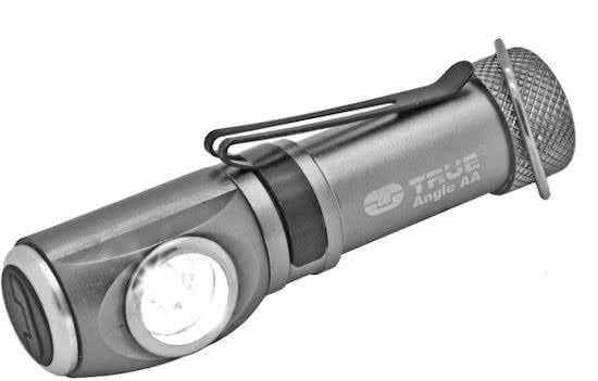 True Utility TU308 AngleLite AA Key Chain Pocket Flashlight