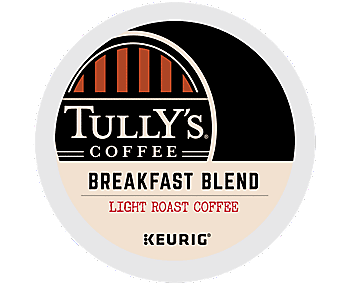 Tully's Coffee K-Cup Coffee - Breakfast Blend
