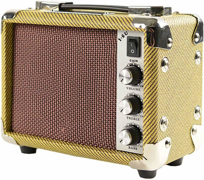 Kala AMP-TWD-5U Tweed Mini Ukulele Amplifier - 5W