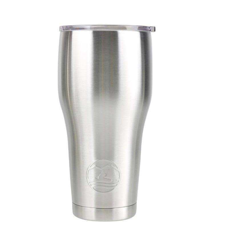Tahoe Trails 84-621 30oz Stainless Steel Vacuum Seal Double Walls Tumbler, 30 oz, Silver