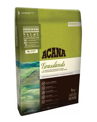 Acana Grasslands Dry Cat Food - 4 lb bag